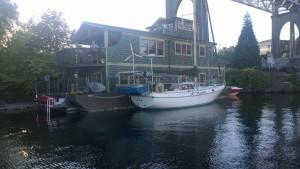 Purple boat 1