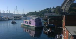 Purple boat 2