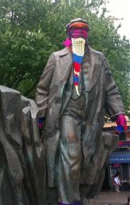 Lenin Knitted